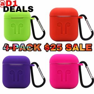 4-Pack Airpod Cases APPLE Airpods Protection